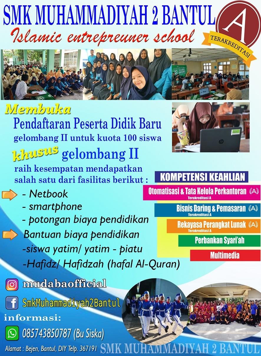 Informasi PPDB 2019/2020 Gelombang II
