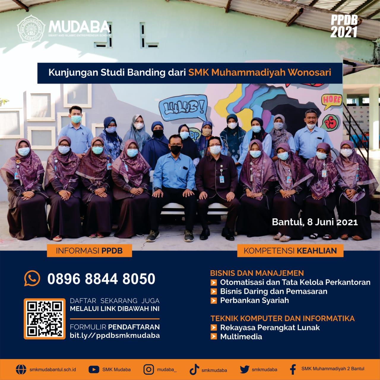 Kunjungan Studi Banding dari SMK Muhammadiyah Wonosari
